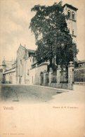 [DC6940] VERCELLI - FIANCO DI S. FRANCESCO - Old Postcard - Vercelli