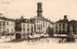 [DC6941] VERCELLI - PIAZZA CAVOUR - Old Postcard - Vercelli