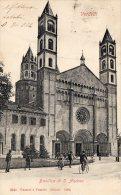 [DC6943] VERCELLI - BASILICA DI S. ANDREA - Viaggiata 1904 - Old Postcard - Vercelli