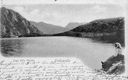 [DC6946] PIEDICAVALLO (VERCELLI) - LAGO DELLA VECCHIA - Viaggiata - Old Postcard - Vercelli