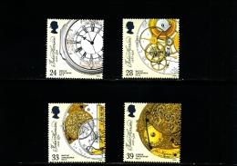 GREAT BRITAIN - 1993  CLOCKS  SET  MINT NH - Nuovi