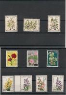 ALGERIE  Flore   Années 1974-76-78-93 N° Y/T : 590-598-682-882/85-1040/4 2** Côte: 19,40 - Algérie (1962-...)