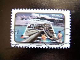 OBLITERE FRANCE ANNEE 2010 N° 408 LE TIMBRE FETE L´EAU LA GEOTHERMIE - France