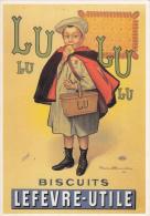 LU - Biscuits - LEFEVRE-UTILE - Publicité