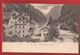 BCHA-01 Châtelard  Près Finhaut, Hotel Suisse.  Précurseur. Non Circulé - VS Valais