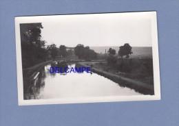 Photo Ancienne - FROUARD - Péniche Sur Le Canal - Le Port - Bateaux