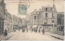 66  - GRANVILLE -  L'Hôtel Des Bains Et La Rue Des Juifs - Granville