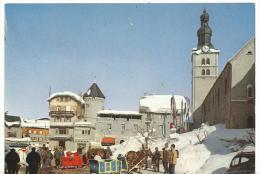 J :  Haute  Savoie  :   MEGEVE  : Vue     1998 - Megève
