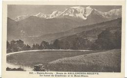J :  Haute  Savoie  :   MEGEVE - SALLANCHES :  Le  Lacet   De  Combloux  Et Le  Mont  Blanc - Megève