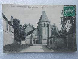 CP 28 ST SAINT LUBIN  Des JONCHERETS - Environs De Nonancourt - L'église  1908 - Autres Communes
