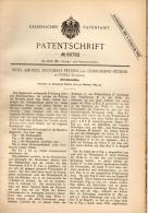 Original Patentschrift - N. Aducci E R. Petrini In Forli , 1889 , Macchina Per Maglieria !!! - Macchine