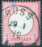 Russ Auf 1 Groschen Karmin Nr. 19 - Pracht - Allemagne