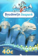 Carte Publicitaire - Belgique - Boudewijn Seapark Brugge - Pubblicitari