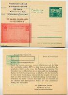 DDR P79-1a-79 C77-b Postkarte PRIVATER ZUDRUCK 100 J. Postkarte Bulgarien ABKLATSCH 1979 - Privatpostkarten - Ungebraucht