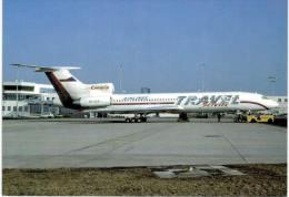 Thème -  Avion -  Travel Service Canaria Travel - Tupolev 154 - 1946-....: Moderne