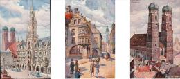 Richard Wagner, München (3X 23622) - Illustrateurs & Photographes
