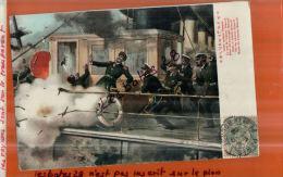 CPA MILITARIA, Scènes Sur Un Bateau, La Mort De L'Amiral Makaroff,     NOV.2013 1223 - Guerre