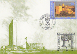 World Heritage Spain 2000 United Nations Postal Administration - Stamps (pictures)