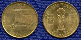 Medal ESPANA  Football Soccer FIFA  World Cup 2006 Germany. # 2461. - Habillement, Souvenirs & Autres
