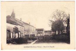 Dammartin-sur-Meuse ; Rue De La Chapelle - Frankreich