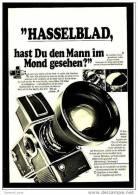 Reklame Werbeanzeige 1970 ,  Hasselblad Filmkamera 500 EL - Camcorder