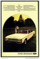 Reklame Werbeanzeige  -  Ford Granada  -  Das Ausstattungsvorbild Ford Granada GXL  -  Von 1973 - KFZ