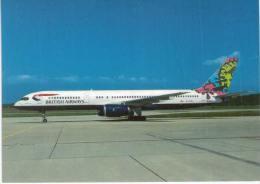 Thème -  Avion - Scot Air 03 - Boeing 757-236 - British Airways  - Geneva GVA 8/97 - 1946-....: Moderne