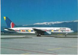 Thème -  Avion - Scot Air 04 - Boeing 757-23A - Air 2000 - Geneva GVA 8/97 - 1946-....: Moderne
