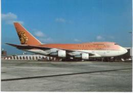 Thème -  Avion - Scot Air 10 - Boeing 747SP - 44- Alliance Air - London LHR 5/98 - 1946-....: Moderne