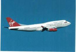 Thème -  Avion - Scot Air 14 - Boeing 747-4Q8 - Virgin Atlantic - London LHR 02/00 - 1946-....: Moderne