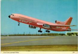 Thème -  Avion - Charles Skilton´s Postcard 271 - Court Line Lockheed Tristar - 1946-....: Moderne