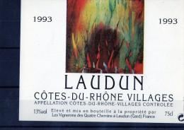COTE DU RHONE VILLAGES - Laudun - Côtes Du Rhône