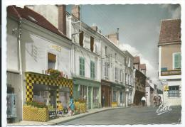 "GALLARDON -GRANDE RUE -BAR TABAC ""LE BRAZZA"" -Eure Et Loir (28) - - Autres Communes"