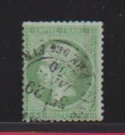 FRANCE //   5 Centimes Vert  //  N 20  //  Côte 12 € - 1862 Napoleon III