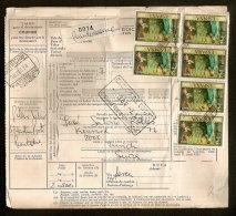 Document Van Expeditie Verzonden Uit CORUNA Naar ZURICH (ZWITSERLAND)  (zie Ook Scan 2) ! Inzet Aan 10 € ! - 1931-Aujourd'hui: II. République - ....Juan Carlos I