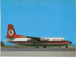 Thème -  Avion - Skyliner Cards N° 062- Fokker F27 Mk 300 MacRobertson Miller Airlines - 1946-....: Moderne