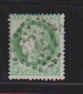 FRANCE //  5 Centimes Vert  //  N 53  //  Côte 10€ - 1862 Napoleon III