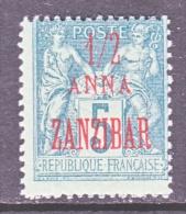 ZANZABAR   18a  Type  II    * - Unused Stamps
