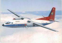Thème -  Avion - Skyliner Cards N° 122 - Sempati Air - Fokker F27 Mk 600 - 1946-....: Moderne