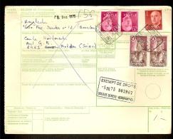 Document Van Expeditie Verzonden Van BARCELONA Naar DIETIKON (ZWITSERLAND)  (zie 3 Scans) ! Inzet Aan 10 € ! - 1931-Aujourd'hui: II. République - ....Juan Carlos I