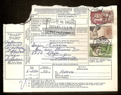 Document Van Expeditie Verzonden Van LUGO Naar STAFA (ZWITSERLAND)  (zie 3 Scans) ! Inzet Aan 5 € ! - 1931-Aujourd'hui: II. République - ....Juan Carlos I