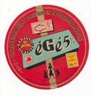 Jan14   61033   étiquette   Camembert      égé - Cheese