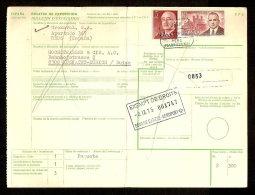 Document Van Expeditie Verzonden Van REUS Naar KUSNACHT (ZWITSERLAND)  (zie 3 Scans) ! Inzet Aan 5 € ! - 1931-Aujourd'hui: II. République - ....Juan Carlos I