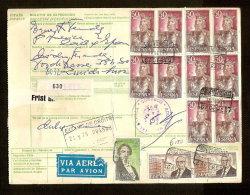 Document Van Expeditie Verzonden Van CACERES Naar ZURICH (ZWITSERLAND)  (zie 3 Scans) ! Inzet Aan 10 € ! - 1931-Aujourd'hui: II. République - ....Juan Carlos I