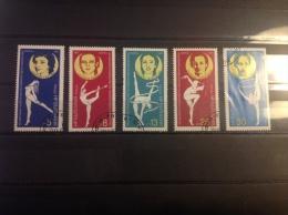 Bulgarije - Serie WK Ritmische Gymnastiek 1987 - Gebruikt