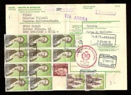 Document Van Expeditie Verzonden Van PALMA DE MALLORCA Naar SCHLIEREN (ZWITSERLAND)  (zie 3 Scans) ! Inzet Aan 10 € ! - 1931-Aujourd'hui: II. République - ....Juan Carlos I