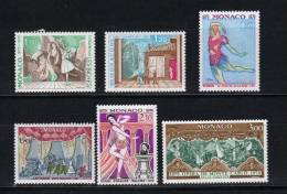 Monaco Timbres Neuf **  De 1979  N°1190 Au N°1195  Serie Complète - Monaco