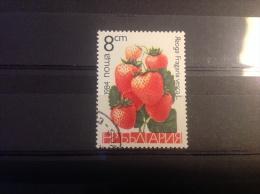 Bulgarije - Vruchten, Aardbeien 1984 - Gebruikt