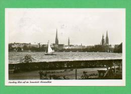 CPSM  ALLEMAGNE  -  HAMBURG  -  Blick Auf Die Innenstadt-Aussealstert  ( En 1953 ) - Stellingen