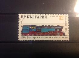 Bulgarije - 100 Jaar Bulgaarse Spoorwegen 1988 - Gebruikt